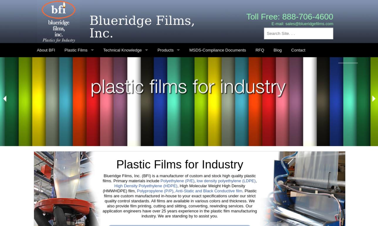 Blueridge Films, Inc.
