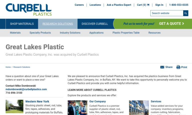 Great Lakes Plastic Company, Inc.