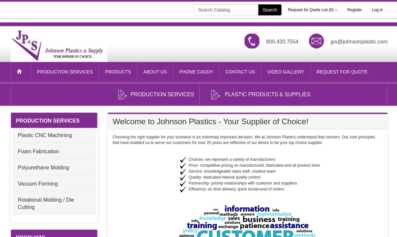 Johnson Plastics & Supply