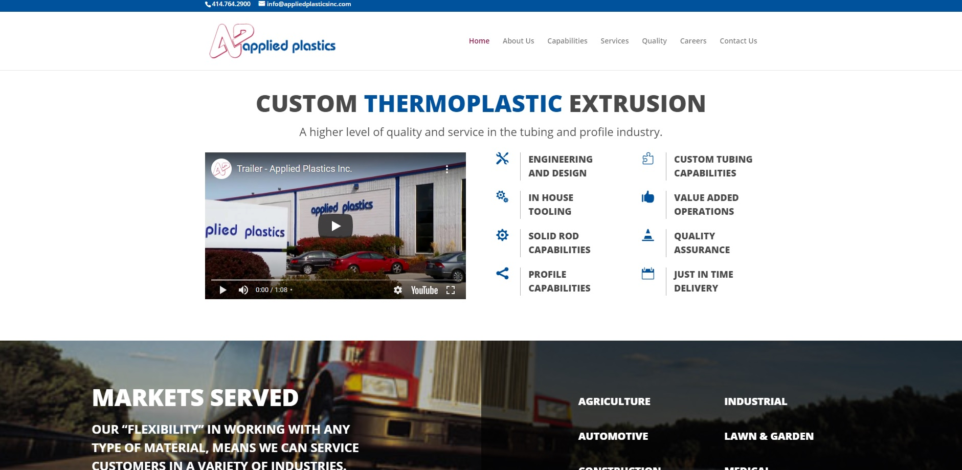 Applied Plastics Inc.
