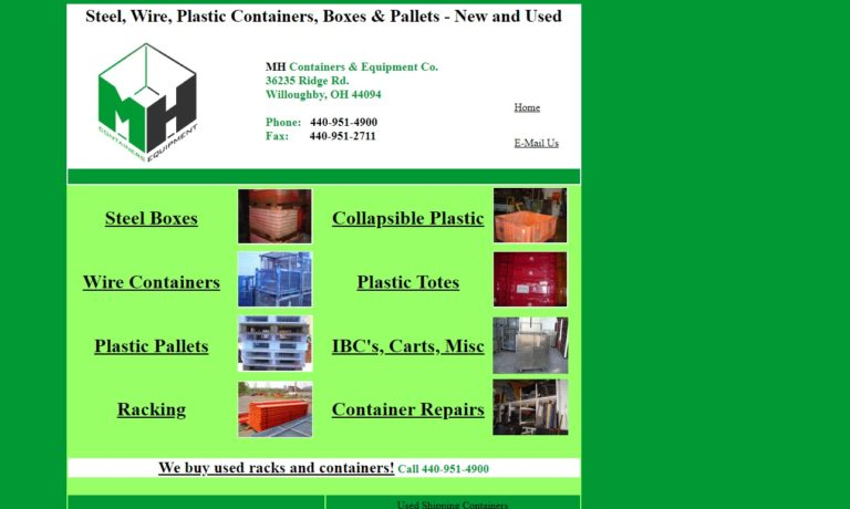 MH Containers and Equipment Company Inc.